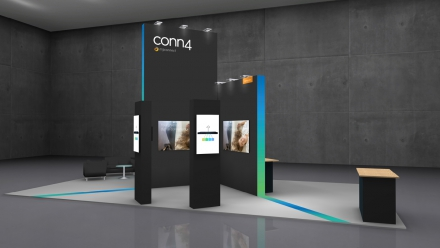 308_conn4 Messestand